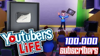 100.000 SUBSCRIBERS - SILVER PLAY BUTTON!!! - YOUTUBERS LIFE ANDROID INDONESIA #6