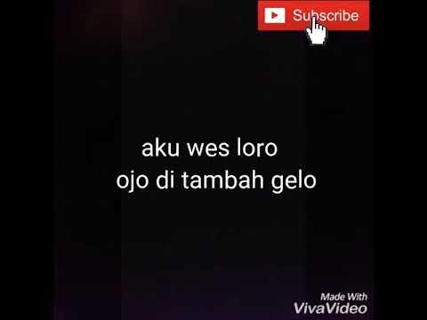 Nhana Ratna - Cukup Semene (lirik lagu hip-hop dangdut)