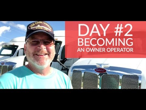 Day #2 - Owner Operator/ Lease Purchase Trucker with PAM Transport