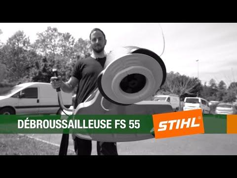 Le Saviez-vous? Présentation de la débroussailleuse FS 55 de Stihl par Sylvain Mécanicien du jardin