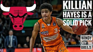 Killian Hayes Is A Solid Pick but Should The Chicago Bulls Take Him at 4?