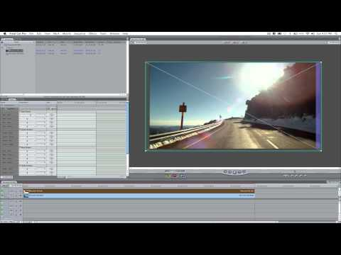 GoPro 3D Tutorial - Howto Create & Edit SBS (Side by Side) 3D in Final Cut Pro 7
