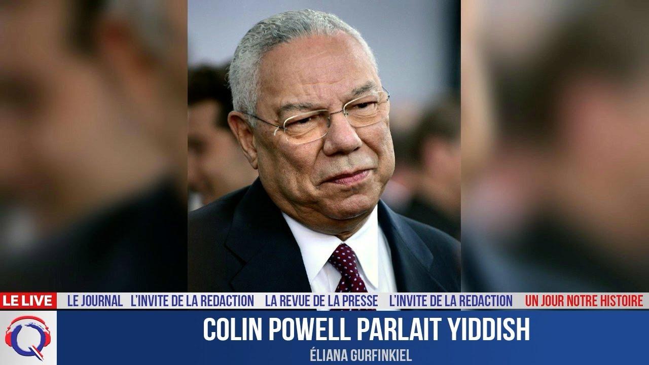Colin Powell parlait Yiddish - Un jour notre Histoire du 20 Octobre 2021