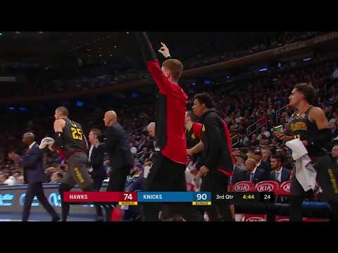 Hawks Catch Fire: Knock Down Seven Three-Pointers In Third
