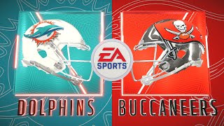 Madden NFL 20 - Miami Dolphins Vs Tampa Bay Buccaneers (Madden 21 Rosters)