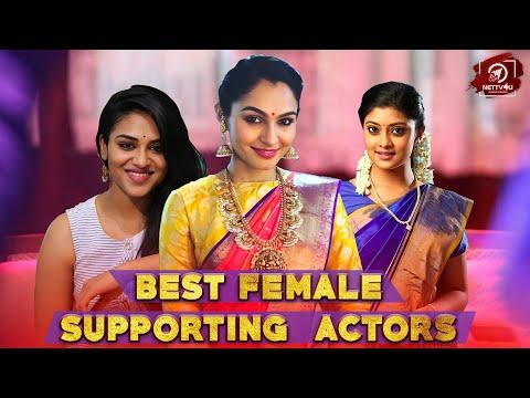 2018 Best Supporting Female Actors | Ramya Krishnan | Saranya Ponvannan | Andrea | Varalaxmi