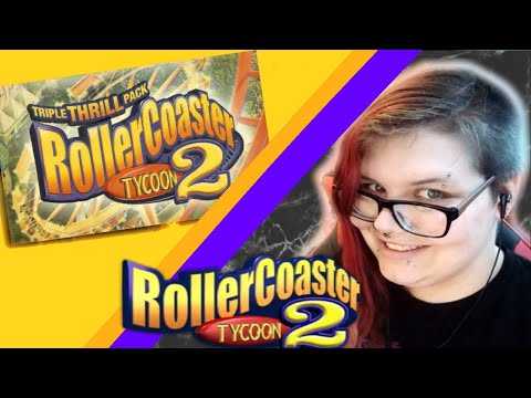 We're Going To Build A Theme Park  | RollerCoaster Tycoon 2 Triple Thrill Pack | Live | | Part 1 | |