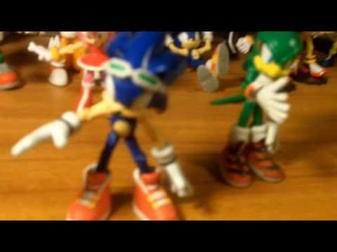 Figure Reviews Sonic Free Riders Youtube