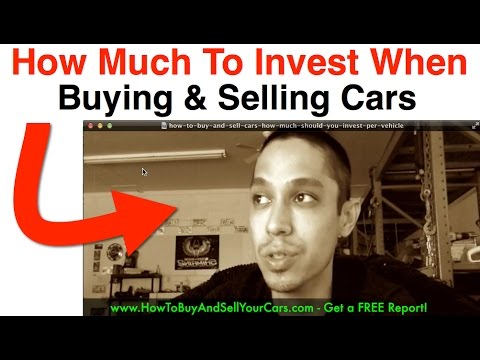 Learn How To Buy And Sell Cars For Profit