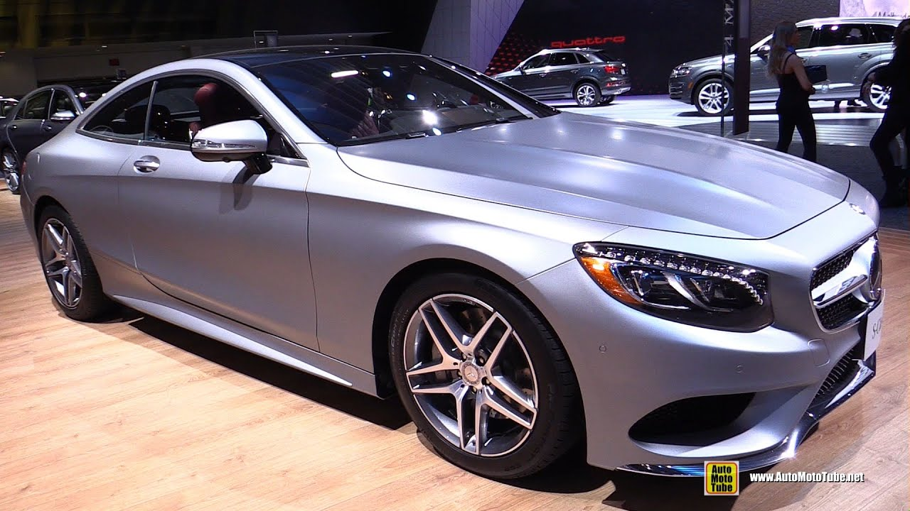2016 mercedes s class coupe s550 4matic exterior and interior walkaround 2016 detroit auto. Black Bedroom Furniture Sets. Home Design Ideas