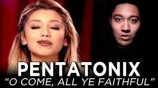Pentatonix - O Come, All Ye Faithful REACTION!!!