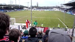 FSV Frankfurt - Fortuna Düsseldorf - Ansage Niko - 13.3.10 F95