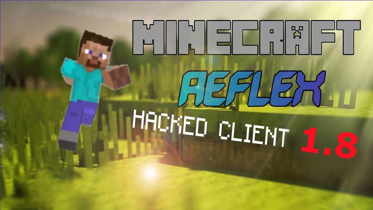 Minecraft Hacked Client REFLEX Timer Killaura HD - Namen andern in minecraft 1 8