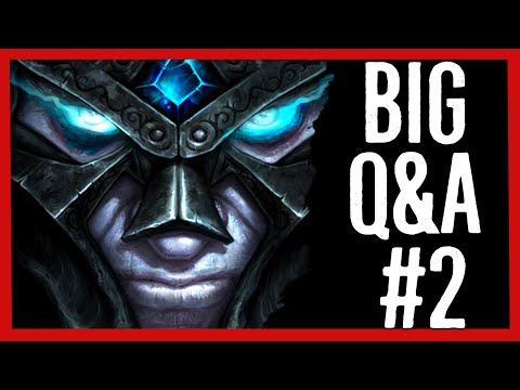 Was Arthas Evil Before Frostmourne? Where Did Broken Isles Come From? - Big Q&A #2