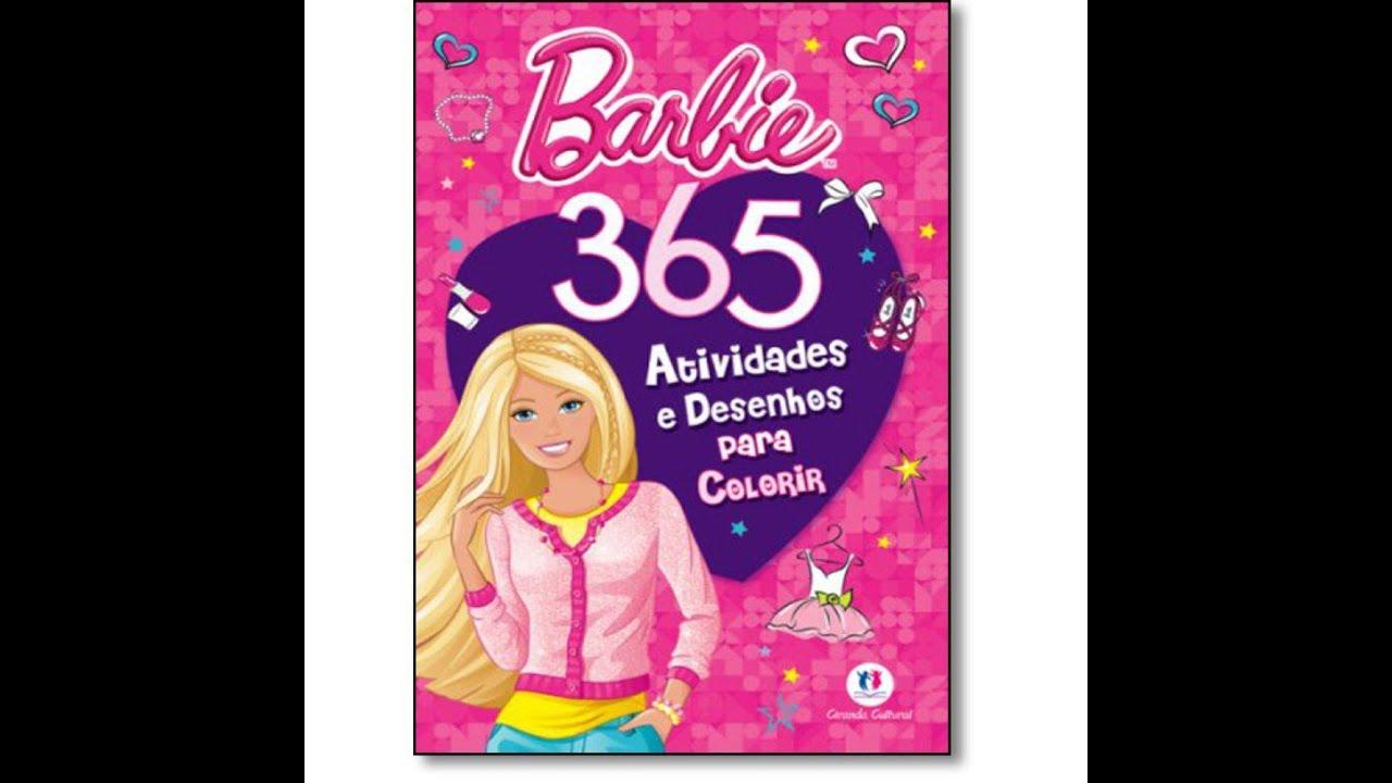Barbie 365 Atividades E Desenhos Para Colorir