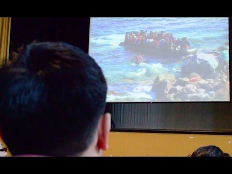 Global Journalist Jeanne Carstensen visits Senn High School