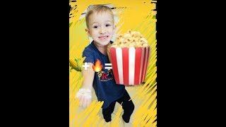 Как приготовить Popcorn в микроволновке? РОМАРИК – кухарик. Влог. Наш долгий больничный.