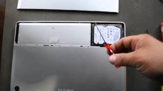 How to remove hard drive from Apple MacBook Pro A1286
