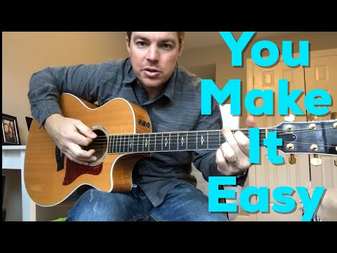Cover Lagu You Make It Easy | Jason Aldean | Beginner Guitar Lesson STAFABAND