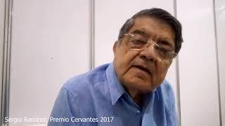Sergio Ramírez, Premio Cervantes 2017