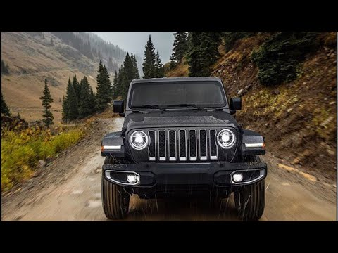 Official 2018 Jeep Wrangler JL Reveal live from LA Auto Show