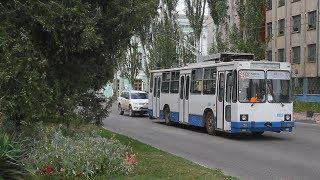 В Керчи остановились троллейбусы и не работают светофоры