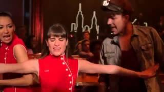 Full Performance Gloria from Santana and Rachel. Season 5.