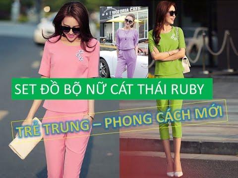 SET Đồ Bộ Nữ Cát Thái RUBY | Model thời trang công sở trẻ trung nhất cho bạn gái | Tất tần tật thông tin về thời trang nữ