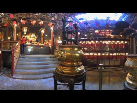Man Mo Temple Hong Kong 360VR with Nikon 360 Keymission