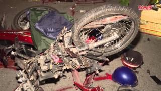 Xe mô tô đối đầu xe tải hai người tử vong