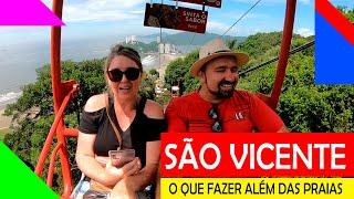 SÃO VICENTE-SP - Dicas de Hospedagem | Passeios | Restaurante | Teleférico | Ilha Porchat