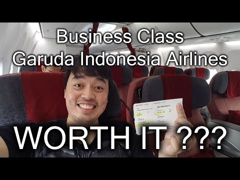 Business Class - Garuda Indonesia