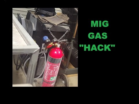 Cheap MIG Welding Gas Tip Trick