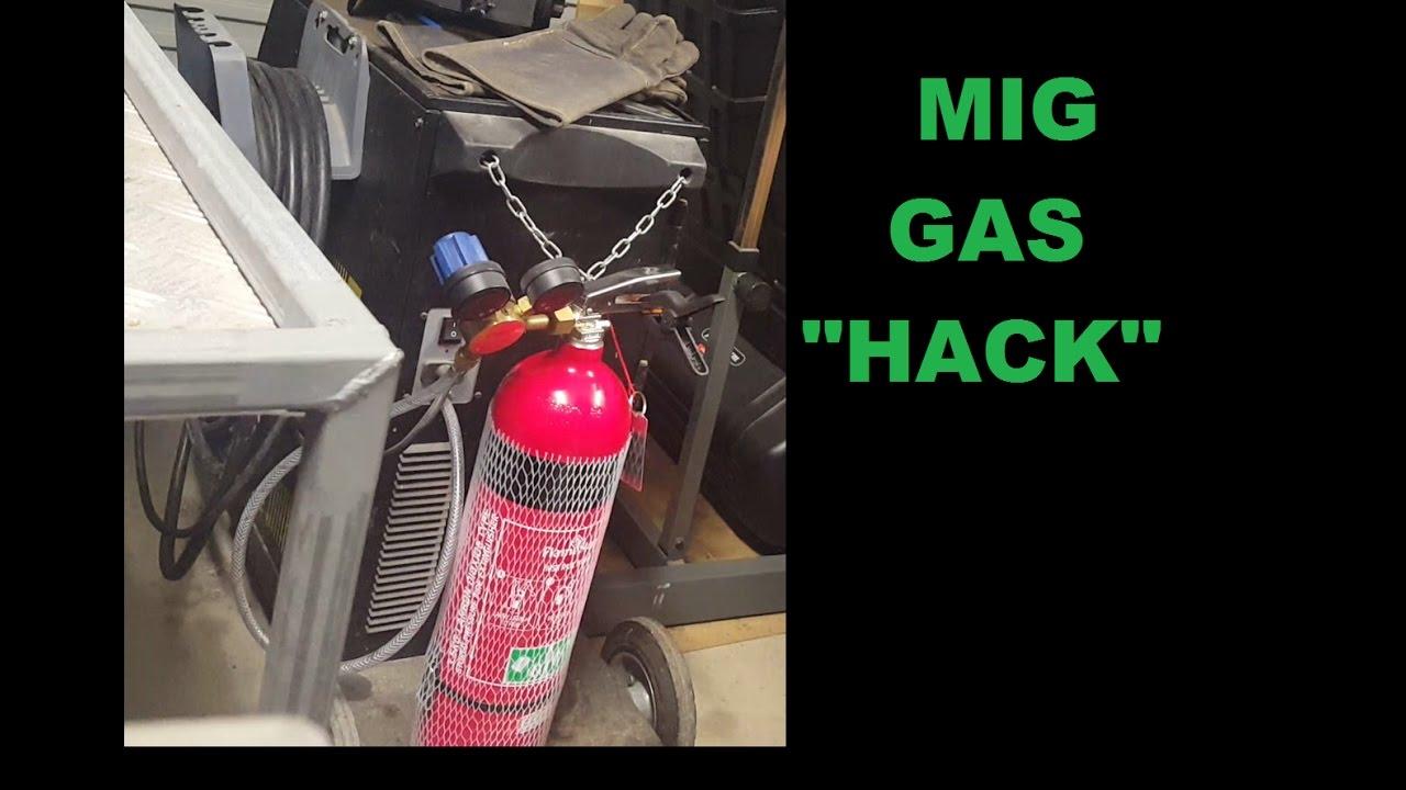 Cheap MIG Welding Gas Tip Trick