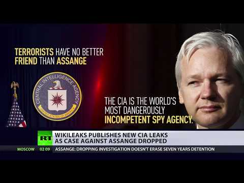 Vault7 'Athena': WikiLeaks publishes new CIA leaks as case against Assange dropped