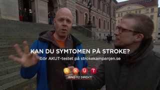 Måns AKUT-testar Sverige - Uppsala
