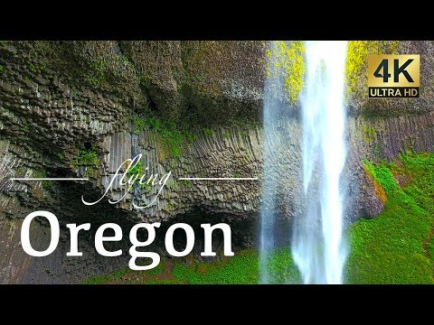 Oregon By Drone - Our Exclusive 4K Aerial Footage - Pacific Coast, Ecola, Portland Area & More