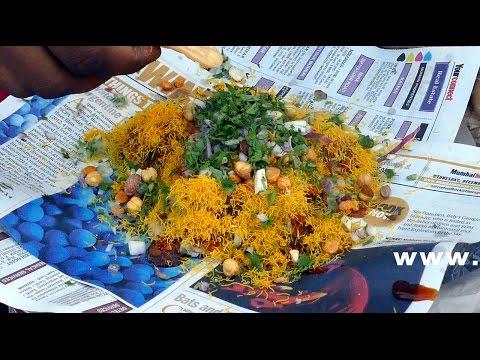 BOMBAY BHEL | S C Chowk Kurla  | MUMBAI STREET FOOD | 4K VIDEO | STREET FOOD IN INDIA