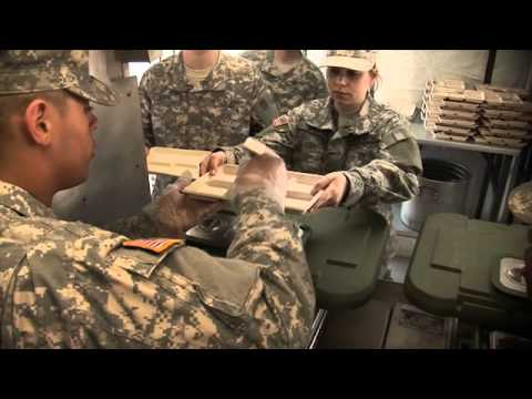 An Inside Look At 92G - Food Service Specialist
