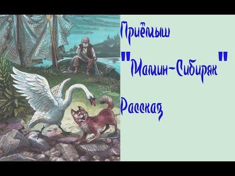 """Приёмыш """"Мамин-Сибиряк"""" Рассказ о дружбе Животных"""