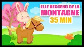 Elle descend de la montagne à cheval - Comptines et chansons pour enfants - Titounis