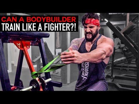 BODYBUILDER Vs FIGHT TRAINING   Full Body Workout Challenge   Lex Fitness (EP.12)