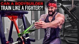 BODYBUILDER Vs FIGHT TRAINING | Full Body Workout Challenge | Lex Fitness (EP.12)