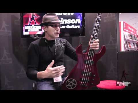 Dean Guitars - Elliot Rubinson: NAMM 2012 Product Showcase