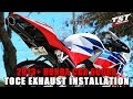 How to install TOCE Exhaust on 2013-2016 Honda CBR 600RR by TST Industries