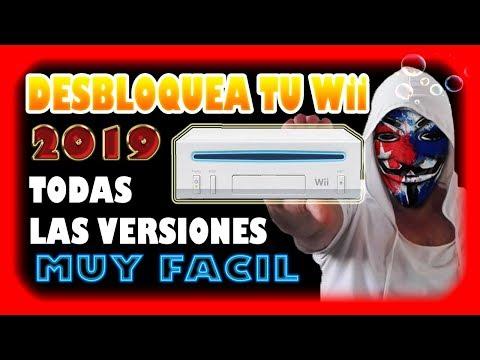 DESBLOQUEAR Wii En 2019 |  Homebrew Channel  Facil Sin Internet   |  Todas Las Versiones