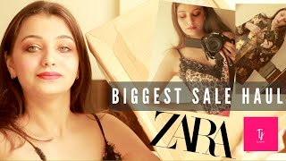 HUGE ZARA AND FOREVER 21 SALE HAUL   TRY ON HAUL   GIVEAWAY MONTH  