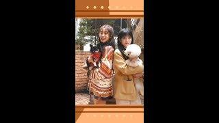 200214 러블리즈 지애,지수 인스타1 lovelyz jiae,jisoo instagram 스타카페 라부에…