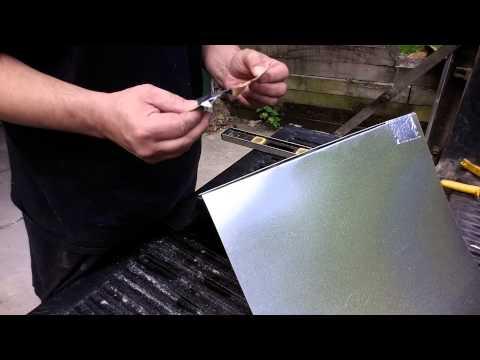 Diy how to ductwork making a plenum bonnet part 1