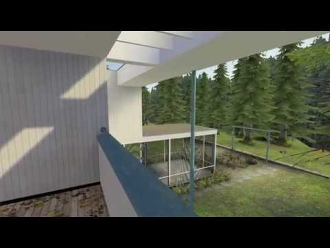 Gropius House: Real-time Architectural Walkthrough in Source Engine